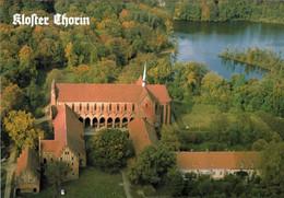1 AK Germany / Brandenburg * Blick Auf Das Kloster Chorin - Erbaut Ab Dem 13. Jahrhundert - Luftbildaufnahme * - Chorin