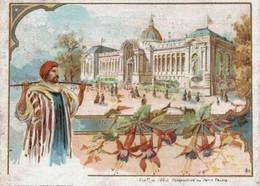 CHROMO NOUVELLE MACHINE A COUDRE SINGER  EXPOSITION DE 1900   PERSPECTIVE DU PETIT PALAIS - Andere
