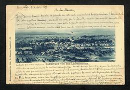 ALLEMAGNE - DARMSTADT - VON DER LUDWIGSHOHE - 1899 - RARE - Darmstadt