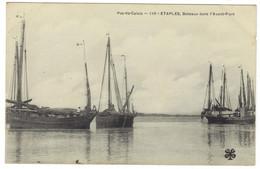 110 - ETAPLES - Bateaux Dans L'avant Port - Etaples