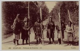 196 - ETAPLES - Pêcheuses De Crevettes - Etaples