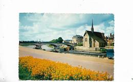 Le Pont Et L'eglise Saint Maurice - Sens
