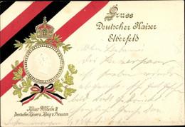 Gaufré CPA Elberfeld Wuppertal, Kaiser Wilhelm II. - Otros