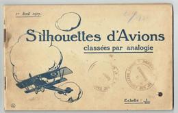 Silhouettes D'avions - Classées Par Analogie - 1917 - 90ème RAL - Biplan 1914-1918 - Aviation - 1914-18