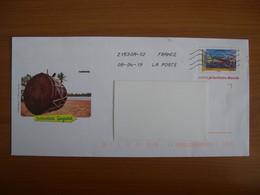 Enveloppes  PAP  GUYANE Lettre Prioritaire Monde - Listos A Ser Enviados: Otros (1995-...)