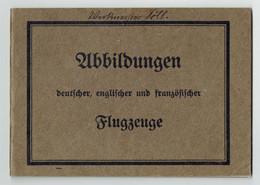 Silhouettes D'avions Abbildungen Deutscher, Englischer Und Franzosischer Flugzeuge  - Berlin - Biplan 1914-1918 Aviation - 1914-18
