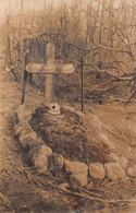 Carte Photo Militaire HARTMANNSWILLERKOPF-HARTMANNSWEILER-VIEIL ARMAND-Haut-Rhin-Cimetière F. Grab-Friedhof-Guerre 14/18 - Other Municipalities