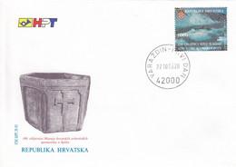 CROATIA FDC 257 - Croazia