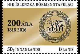 ISLAND 2016 The Icelandic Literary Society 200th Anniversary - Nuovi