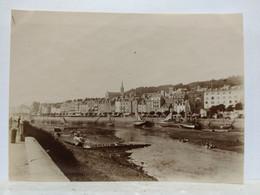 Trouville. Le Port. 1905. 8x11 Cm - Lieux