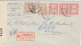 Curacao R Cover 1915 - Curaçao, Nederlandse Antillen, Aruba