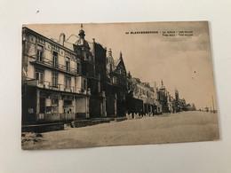 Carte Postale Ancienne BLANKENBERGHE  La Digue - Les Villas  The Dike -The Villas - Blankenberge