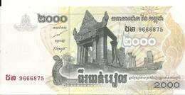 CAMBODGE 2000 RIELS 2007 UNC P 59 - Cambodia
