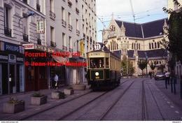 Reproduction Photographie D'un Tramway Historique Ligne T1 Saint-Denis Bobigny Circulant En Centre Ville à Paris En 1995 - Riproduzioni