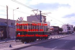 Reproduction Photographie D'un Tramway Historique Ligne T1 Saint-Denis Bobigny En Circulation à Paris En 1995 - Riproduzioni