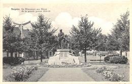 Soignies - Monument Aux Héros De La Grande Guerre 1914-18 - Ed. Biemans - Soignies