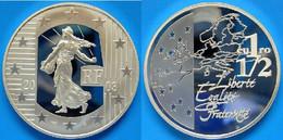 FRANCE 1,5 E 2003 ARGENTO PROOF SEMINATRICE PESO 22,2 TITOLO 0,900 CONSERVAZIONE FONDO SPECCHIO UNC. - France