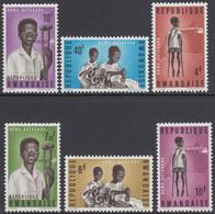 Rwanda 1964 - Gatagara Re-education Centre For Disabled Children - Mi 71-76 ** MNH - 1962-69: Neufs