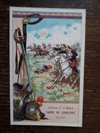 L29/263 CHROMO . LES ARMES A LA MAIN . Sabre De Cavalerie - Andere