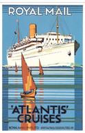 N2L6 England Royal Mail Atlantis Cruises Dalkeiths Series - Koopvaardij