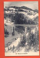 ZFB-04 Pont Sur La Gryonne . Editeur Bütner 186  Cachet Villars Sur Ollon En 1912 - VD Vaud