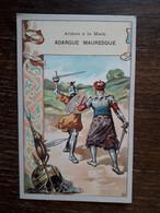 L29/269 CHROMO . LES ARMES A LA MAIN . Adargue Mauresque - Andere