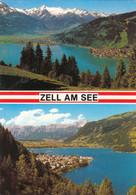 521) ZELL Am SEE - Tolle ältere ZWEIBILD AK - - Zell Am See