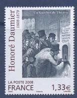 N° 4305 Honoré Daumier Valeur Faciale 1,33 € - Ungebraucht