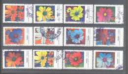 France Autoadhésifs Oblitérés (Série Complète : Les Couleurs Du Cosmos) (cachet Rond) - Used Stamps