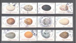 France Autoadhésifs Oblitérés (Série Complète : Oeufs D'oiseaux) (cachet Rond) - Used Stamps