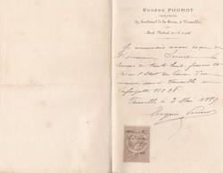 VERSAILLES EUGENE POUNOT ARCHITECTE ANNEE 1889 - Zonder Classificatie