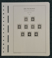 LEUCHTTURM Vordrucke DDR 1985/90 SF Gebraucht, Neuwertig (Z610) - Pre-Impresas