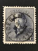OBP 169 - 15c - IDEGEM - 1919-1920  Re Con Casco