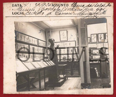 PORTUGAL - LISBOA - MUSEU BORDALO PINHEIRO - UMA SALA - 1924 REAL PHOTO - Lieux