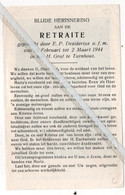 TURNHOUT..1944.. RETRAITE IN HET H. GRAF TE TURNHOUT - Non Classificati