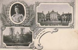 AK Wilhelmina - Het Huis Ten Bosch - Internationale Vrede-Congres Te S'Gravenhage 1900 (52901) - Case Reali