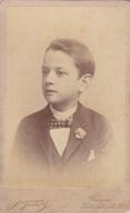 Photo Foto - Formato CDV - Bimbo In Abiti Eleganti -Years '1880/'1890 - A. Testa, Genova - Oud (voor 1900)