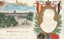 AK Friedrich Großherzog Von Baden - Reliefdruck - 1902 (52903) - Case Reali