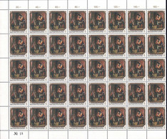 Luxembourg - Luxemburg - Timbres 1984  Jean-Pierre Pescatore , Luxembg- 4F. - Feuille 40 Timbres MNH** - Ungebraucht