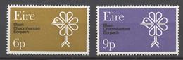 Ireland 1970 Mi# 237-38** EUROPA CEPT - Unused Stamps
