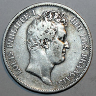 5 Francs - Louis-Philippe I - 1831 A - J. 5 Francos