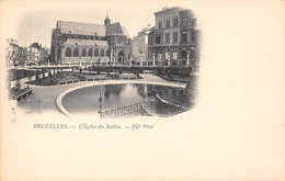 BRUXELLES - L'Eglise Du Sablon - Monumentos, Edificios