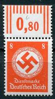 Deutsches Reich - Dienstmarken Mi. 170b ** W OR - Service