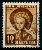 SCHWEIZ PRO JUVENTUTE Nr 374 Gestempelt X826D52 - Used Stamps
