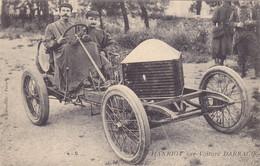 CPA Pilote René HANRIOT (France - Vaite (70)) Sur Voiture  DARRACQ En 1906 - Pionnier Aviation Et Constructeur D'Avions - Le Mans