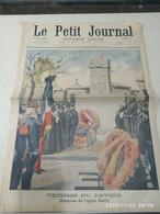 Le Petit Journal 24 Novembre 1901 Supplément Illustré  - Rare Journal Avec En Première Page Large Illustaqtion: Victime - 1900 - 1949