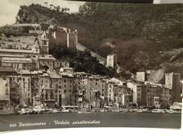 Cartolina  Portovenere Prov La Spezia Veduta Caratteristica  Anni 60 Porto - La Spezia