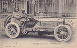 CPA Pilote PIERRY (France) En 1906 Sur Voiture BRASIER 105 HP - 9° Au Grand Prix De L' ACF Circuit De La Sarthe Le Mans - Le Mans