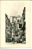 75006 PARIS - Cour Du Dragon - Gravure - Support De Publicité Pour Laboratoire De Recherches Thérapeutiques - District 06