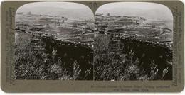 Palestine ~ JERASH NORTH OVER ROMAN RUINS ~ Stereoview Upsa50 - Stereoscoop